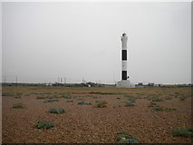 """TR0916 : """"New"""" lightbouse, Dungeness (2) by Richard Vince"""
