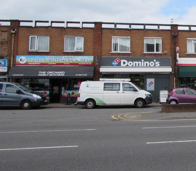 The Orchard family butchers & deli, Rumney, Cardiff