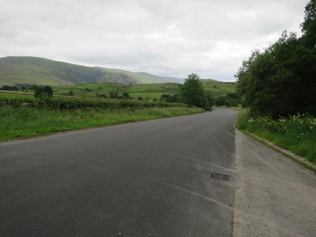 Resurfaced road