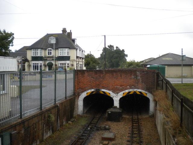 Tunnels under Littlestone Road, New Romney