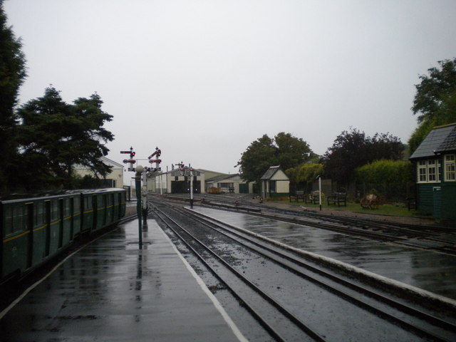 North end of New Romney railway station