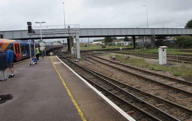 South side of Bishopstoke Road railway bridge, Eastleigh