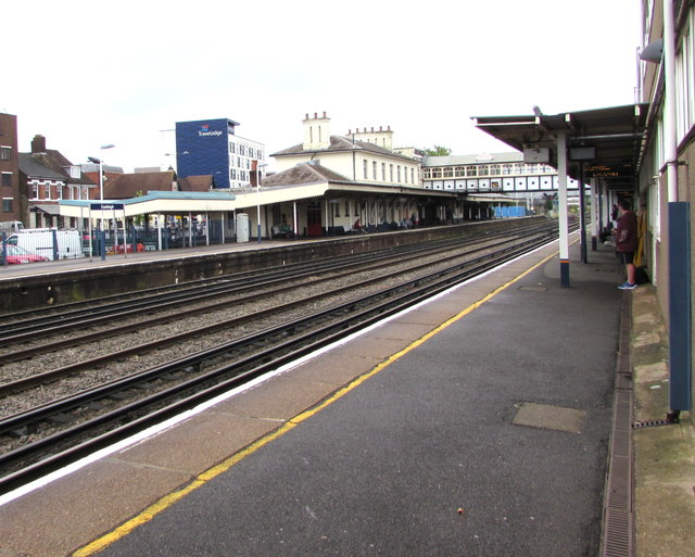 Eastleigh railway station