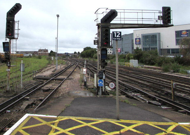 Railway south of Eastleigh station