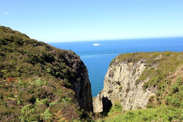 View towards Gogarth Bay