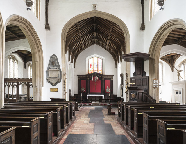 St George Colegate, Norwich - East end