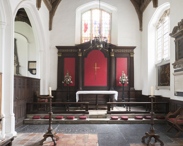 St George Colegate, Norwich - Chancel