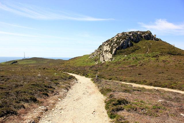 The Anglesey Coastal Path below Holyhead Mountain