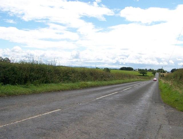 A735 north of Kilmaurs