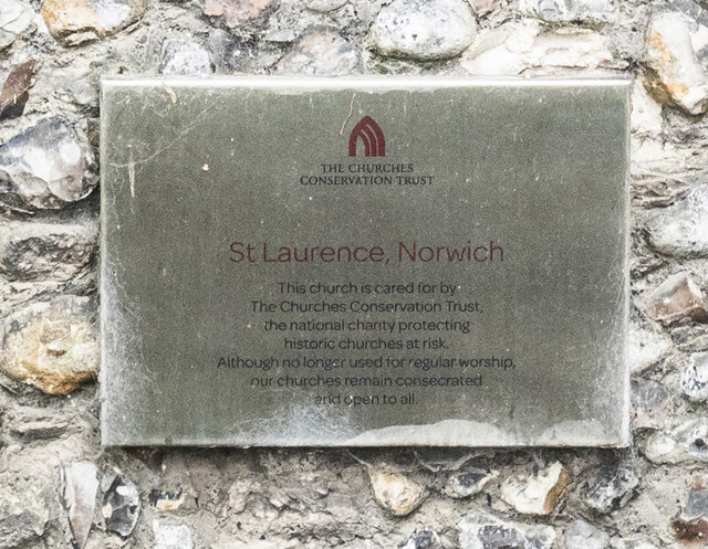 St Lawrence, Norwich - CCT notice