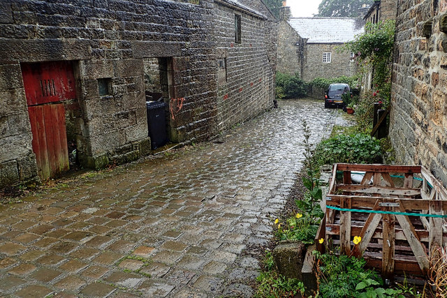 A ginnel in Middlesmoor