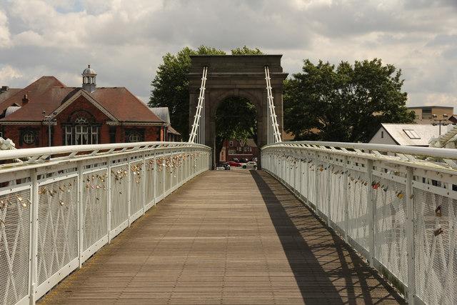 Wilford Suspension Bridge