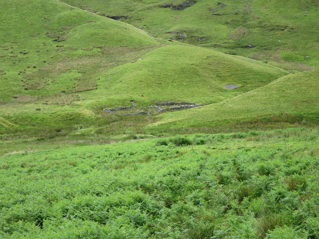 Old sheepfold, Newlands Valley