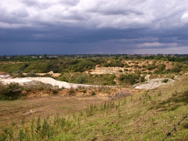The Caistor chalk pit