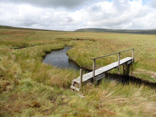 Footbridge over Connypot Beck