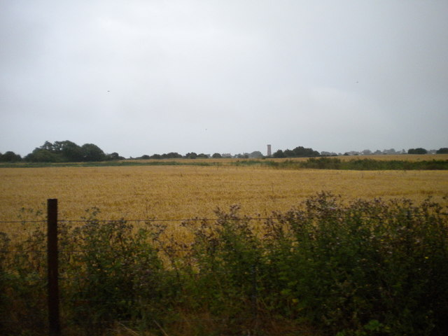 Fields north of New Romney