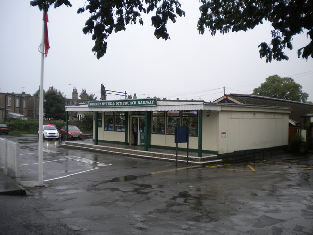 Entrance building, Hythe railway station