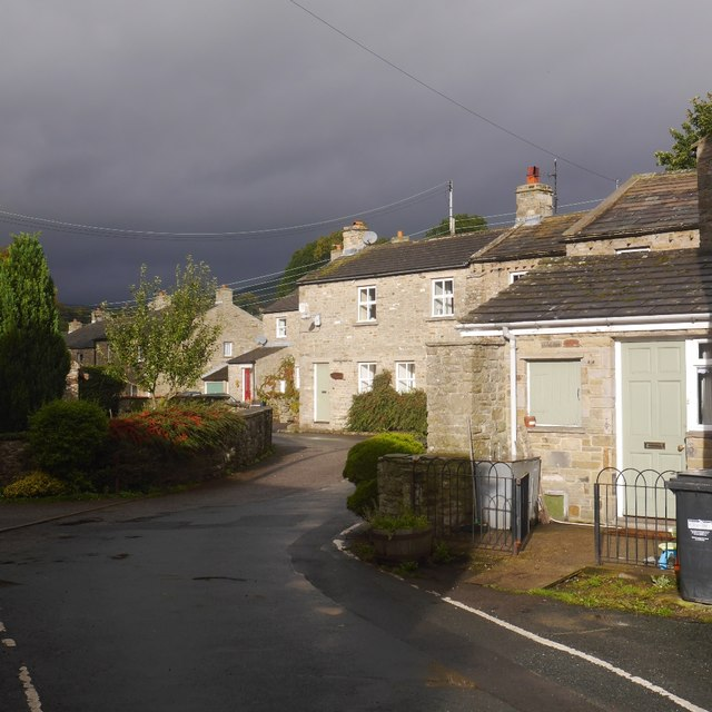 Showers about, Askrigg