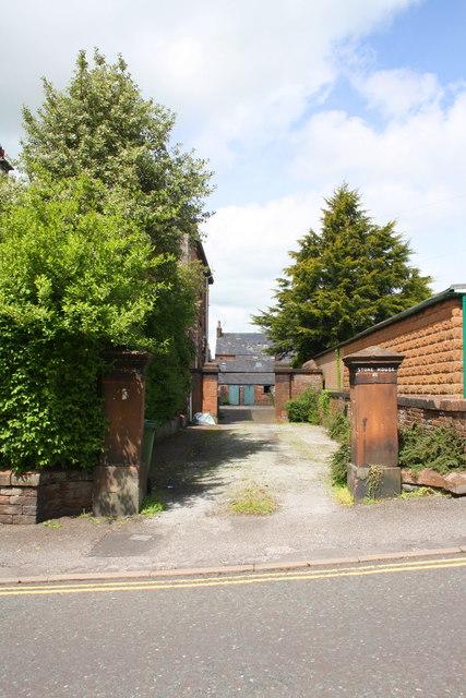 Entrance to 'Stone House', #21 Arthur Street