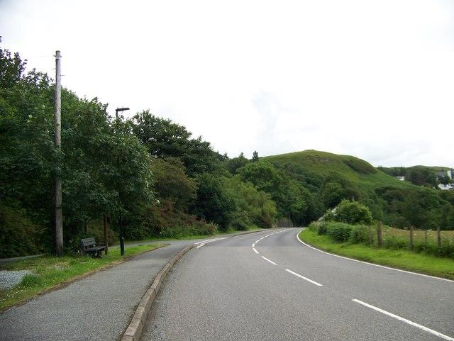 A87 leaving Uig