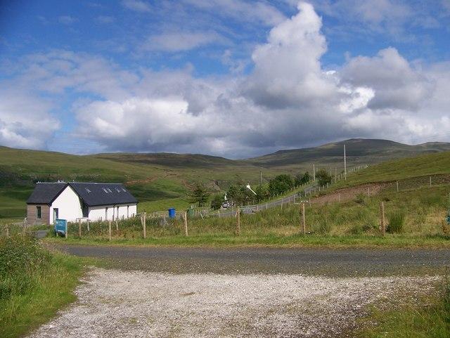 Glen Uig and the houses of Glen Conon