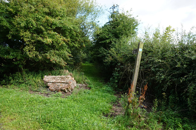 Fox Covert Lane north of Spaldington