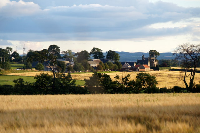 View to Carberry Mains from Crookston, near Wallyford