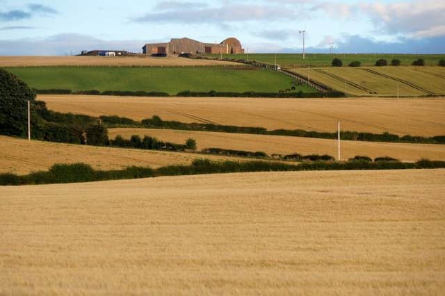 View to Hillhead from Crookston, near Wallyford