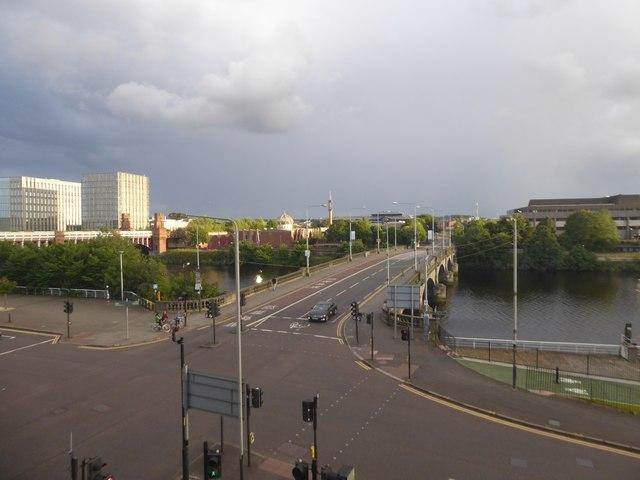 Victoria Bridge and Gorbals Street
