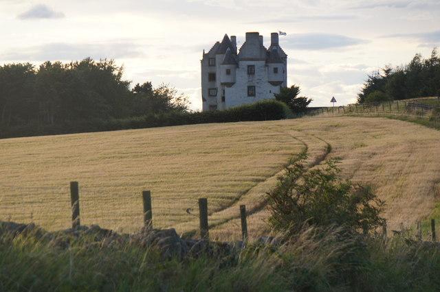 Falside Castle, near Wallyford