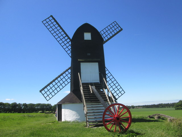 Pitstone Windmill, view south-west