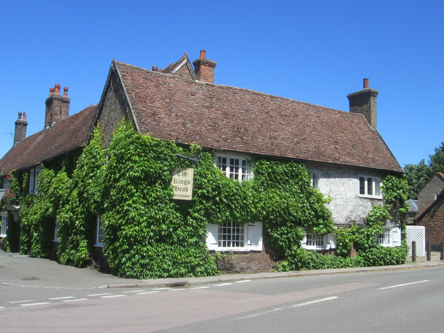 Kings Head pub, Ivinghoe village