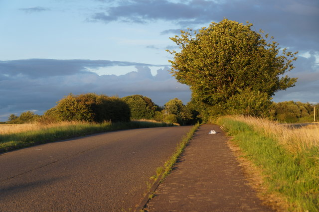 Unused road near Tranent