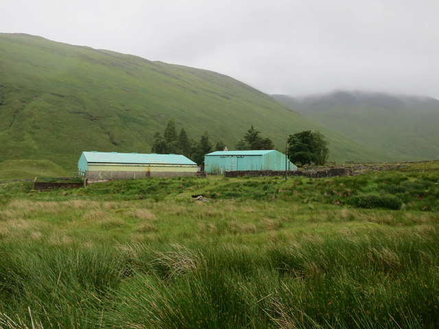 Buildings at Cononish