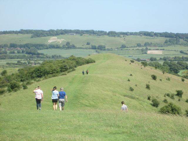 Walking towards Gallows Hill