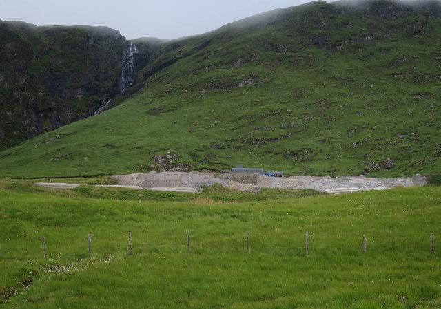Gold mine near Tyndrum