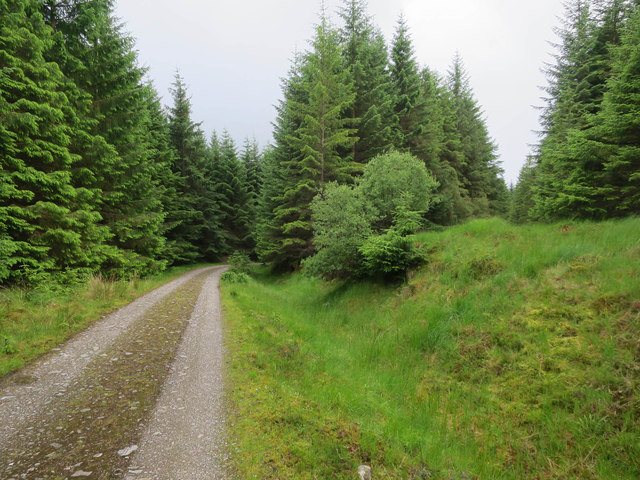 Track from Tyndrum