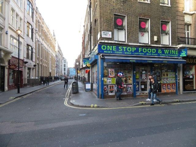 One Stop Food & Wine - Brewer Street