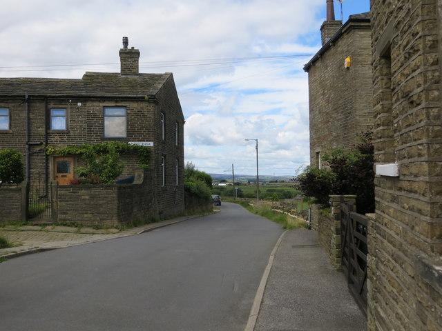 Upper Heights Lane near Back Heights