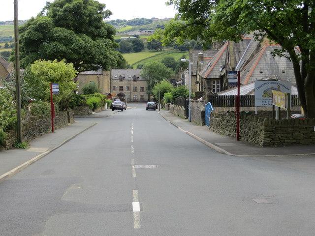 James Street descending into Thornton