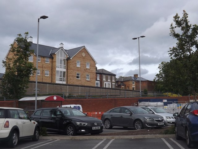 Car park at Sainsbury's, Scarborough