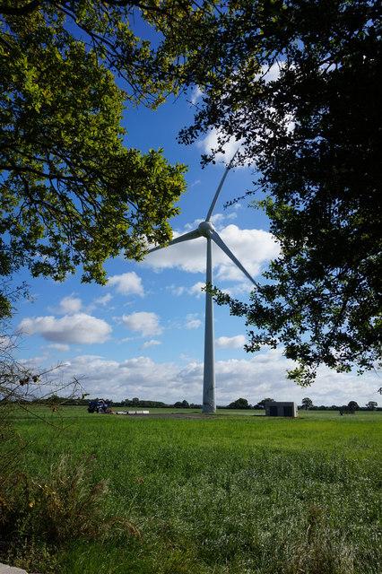 Wind turbine off Tottering Lane