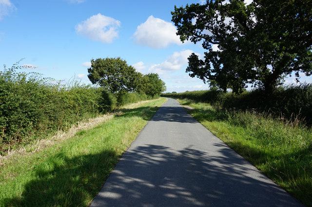 Tottering Lane towards Foggathorpe