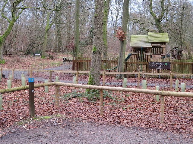 Play area at Forest Retreat