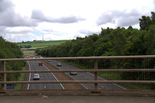 The A1 at Wallyford