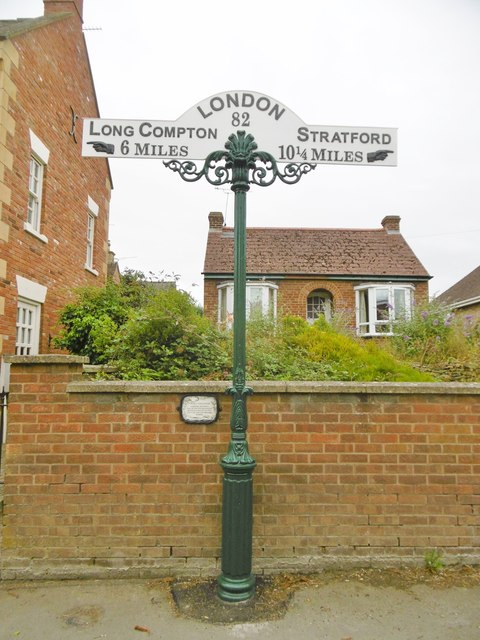 Milepost, Shipston-on-Stour