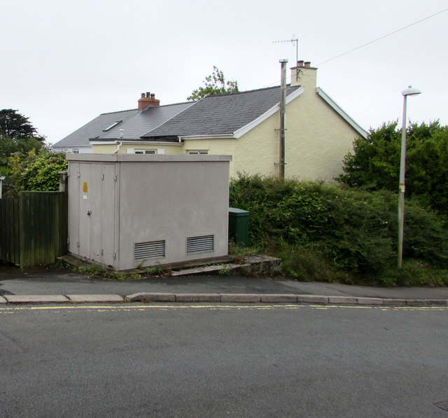 Greenfields Park electricity substation, Tenby