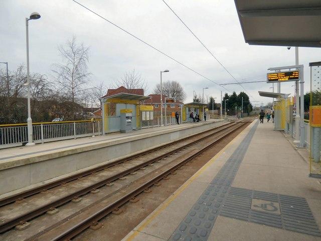 Northern Moor tram stop
