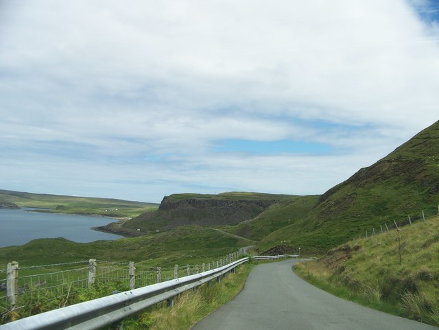 A855 to Duntulm
