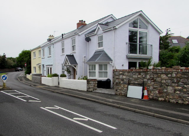 Narberth Road houses, Tenby